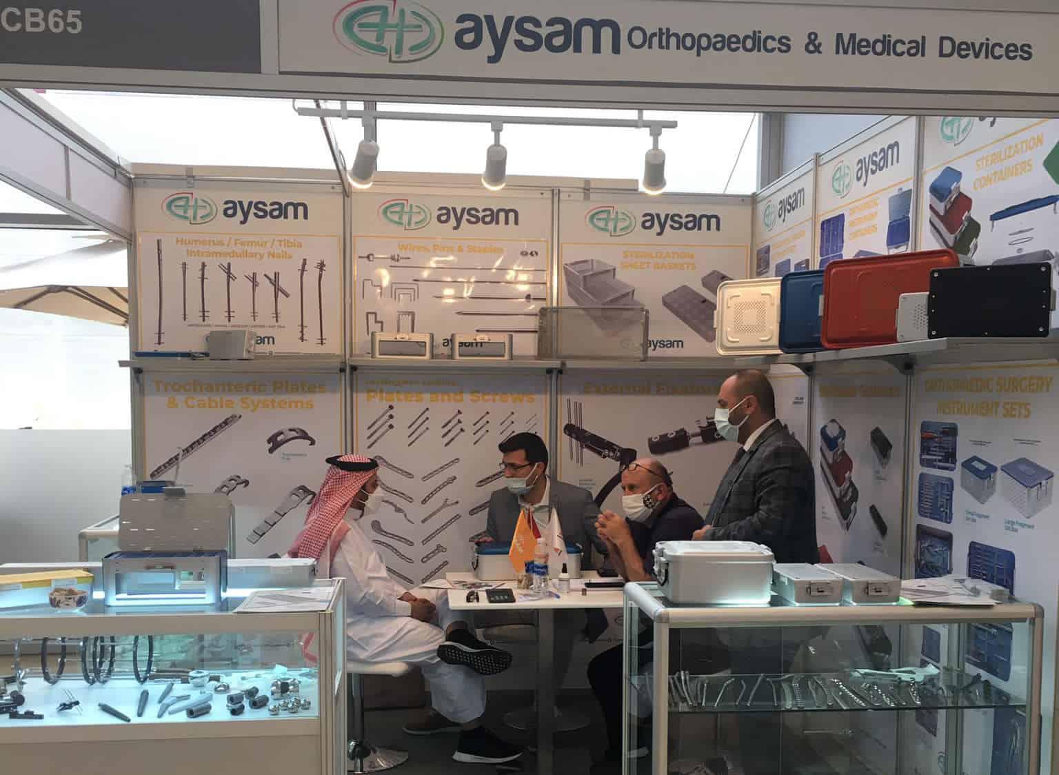 2021 Arab Health Aysam